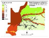 Memphis Hazard Map - NMSW M7.5 LPI >5