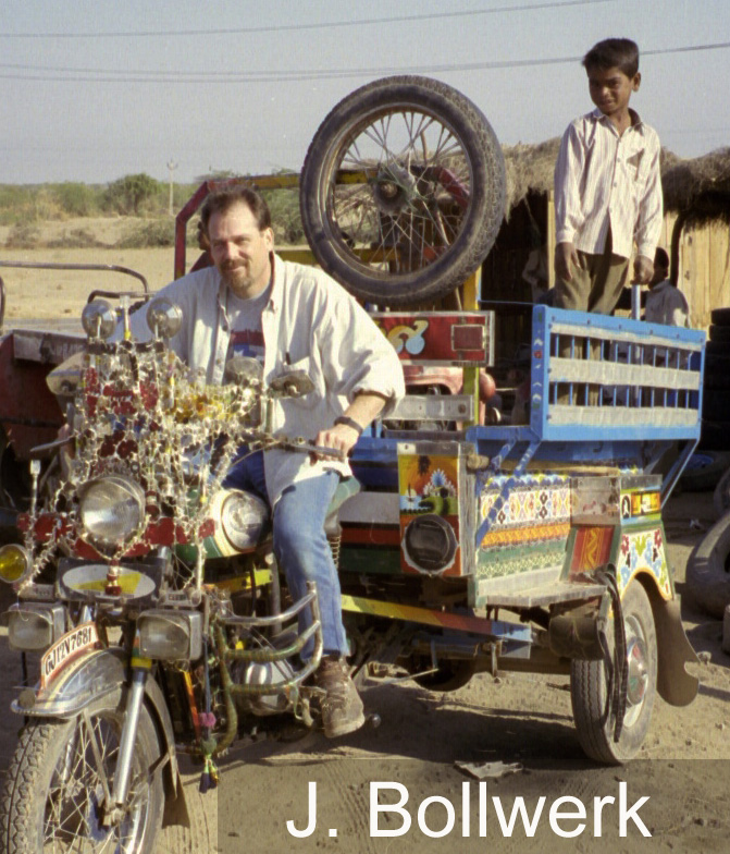 bollwerk on motorbike