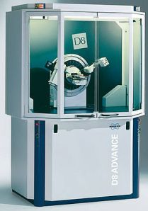 Bruker X-ray diffractometer