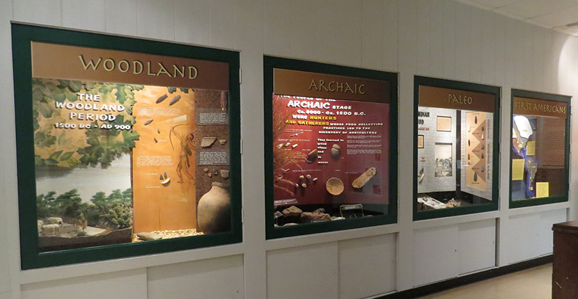 Visit the Chucalissa's Native American gallery to learn about prehistoric lifeways.