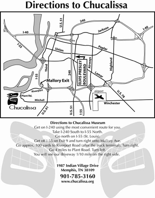 Directions to Chucalissa Museum