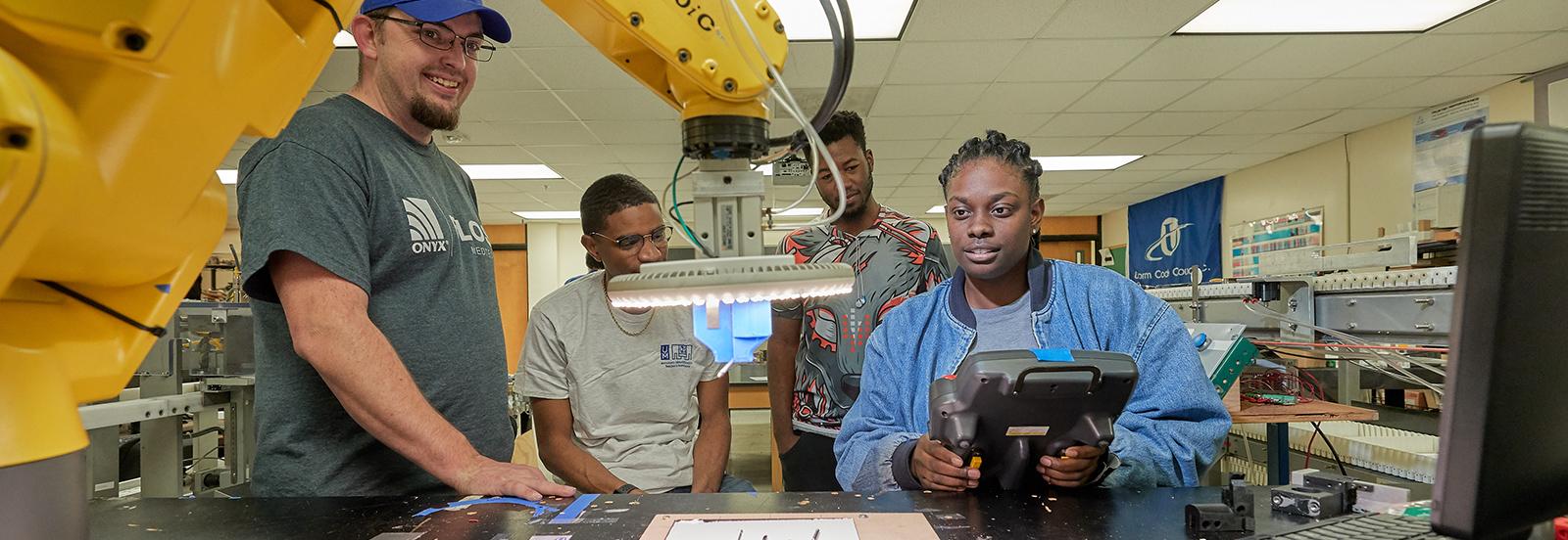 engineering robotics class