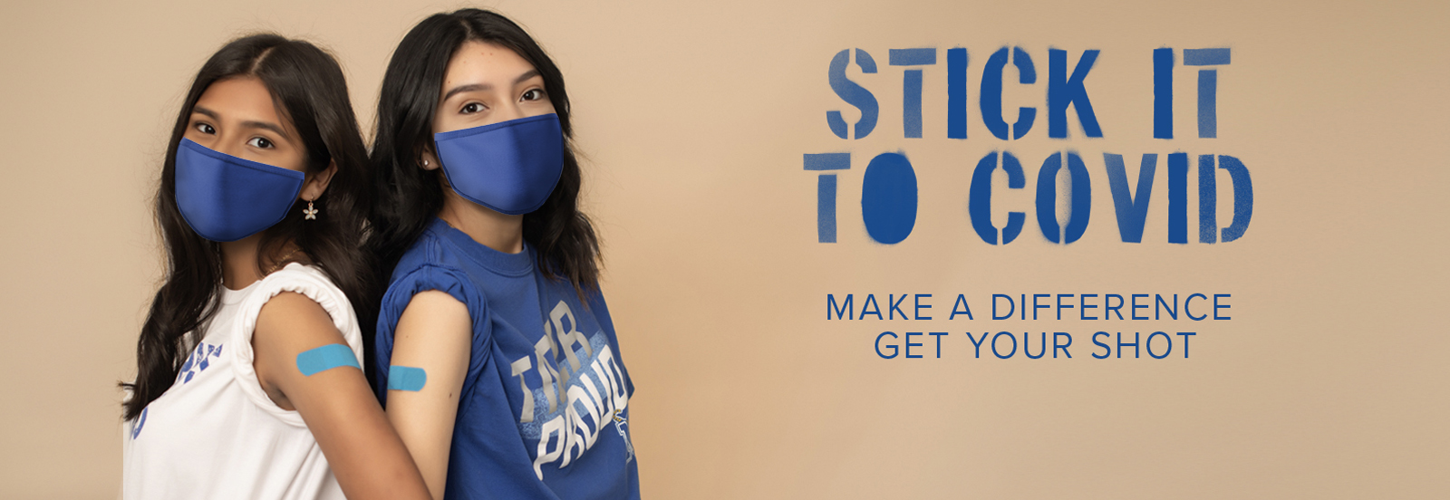 Stick It To COVID | Make a Difference, Get Your Shot