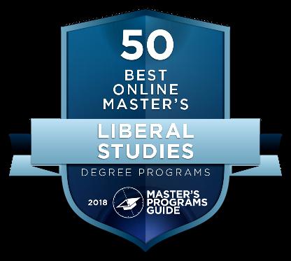 50 Best Online Master's Liberal Studies