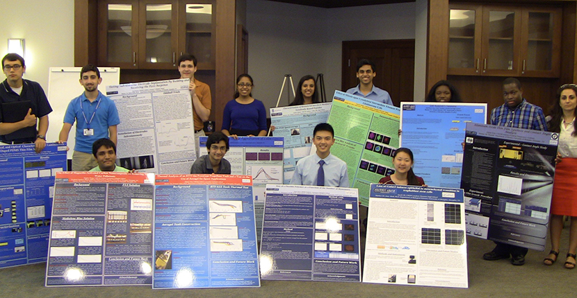2015 MemphisCRESH Students with Posters