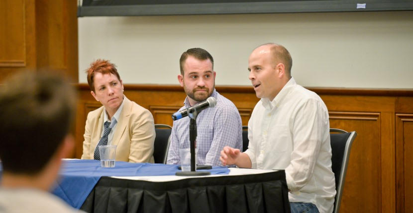 Panelists at the Critical Conversation about Marriage Equality