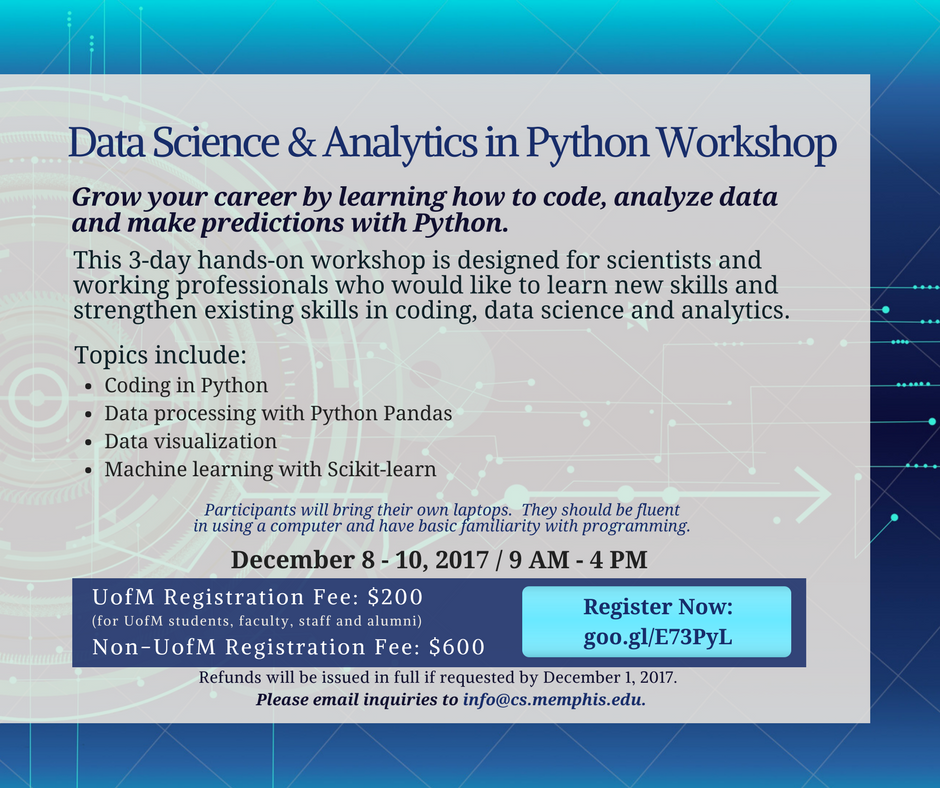 Data Science in Python Workshop - Computer Science - The