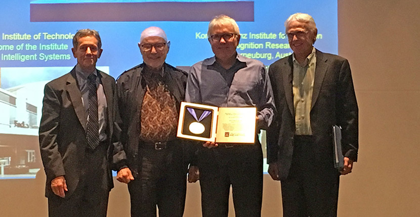 Oller Receives Lifetime Achievement Award at Research Celebration
