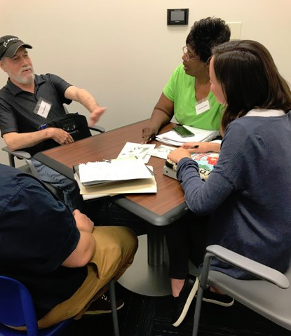 Aphasia Boot Camp session