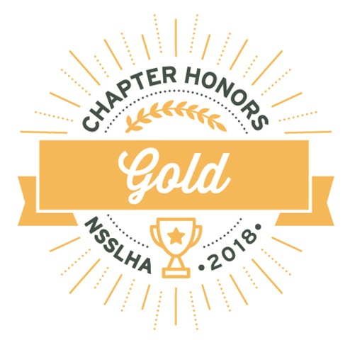 NSSLHA chapter gold honors 2018