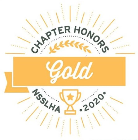 Gold Chapter Honors