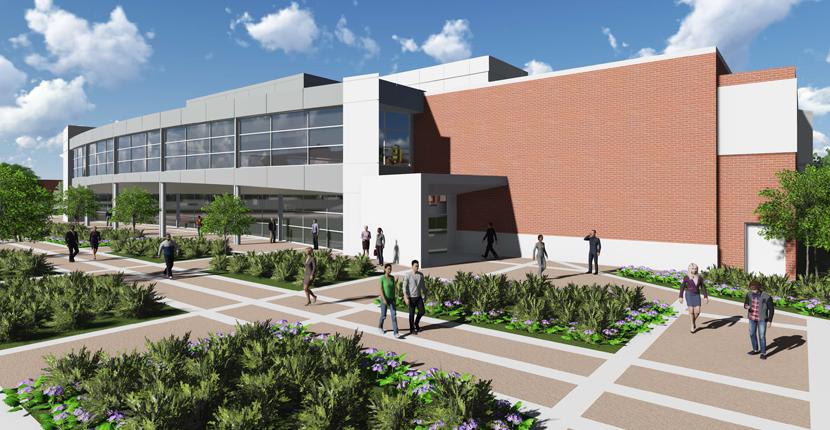 music center rendering
