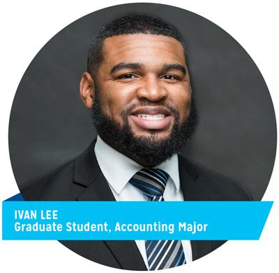 Ivan Lee, Graduate Student, Accounting Major