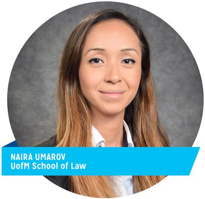 Naira Umarov, UofM School of Law