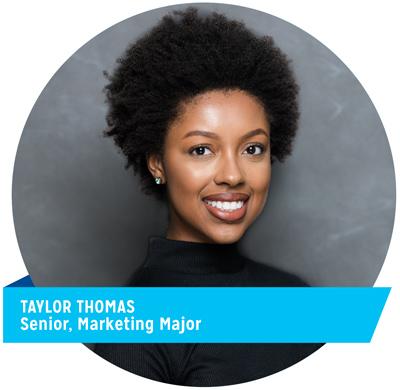 Taylor Thomas, Senior, Marketing Manager