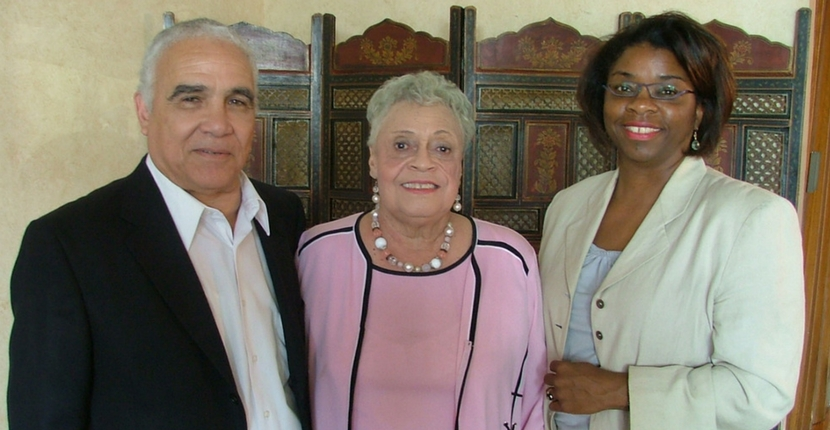Russell Sugarmon, Maxine Smith, and Daphene McFerren
