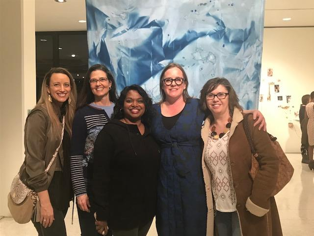 COE Faculty at Displaced Bodies exhibit