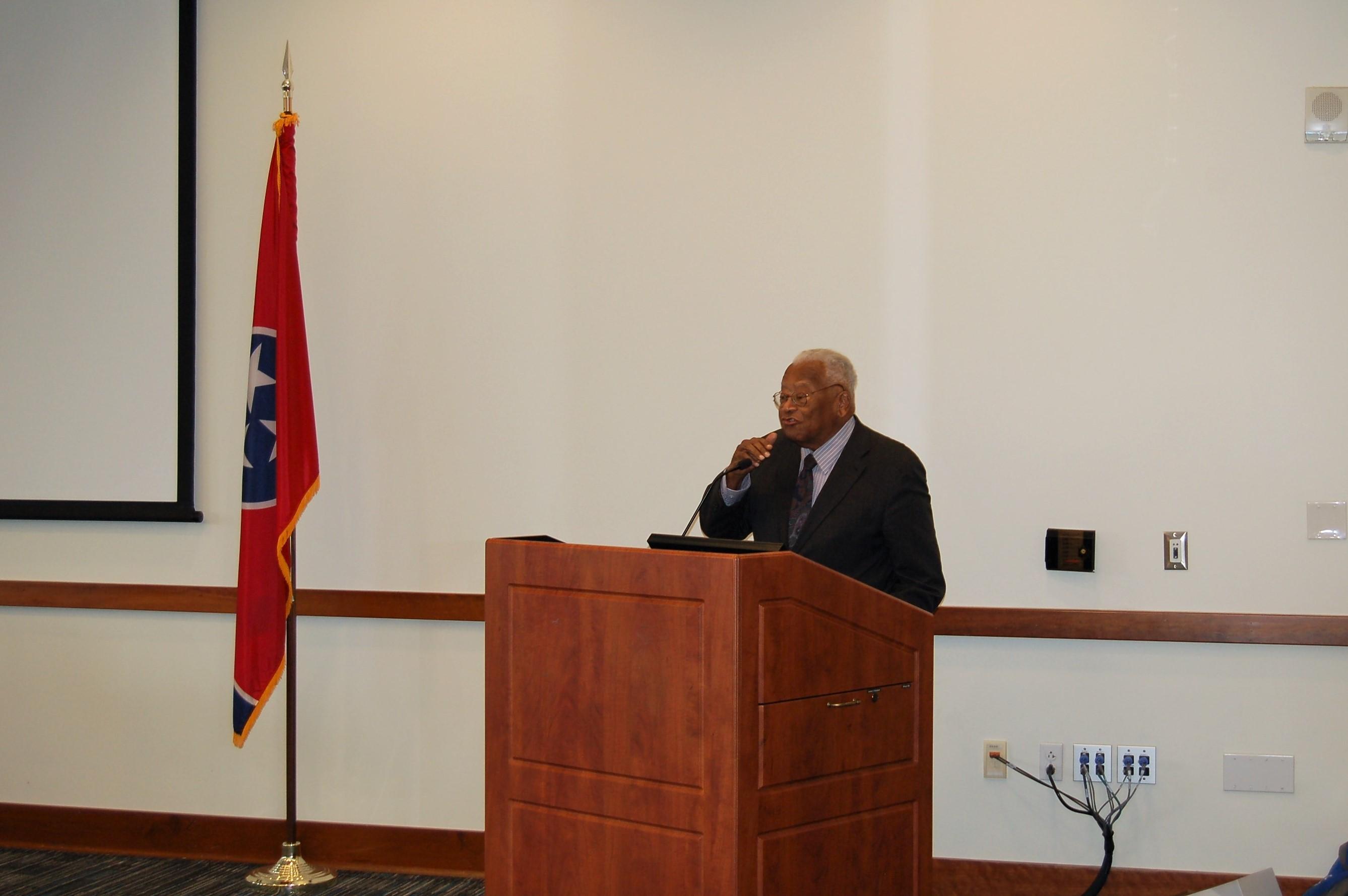 Dr. Lawson gives keynote speech