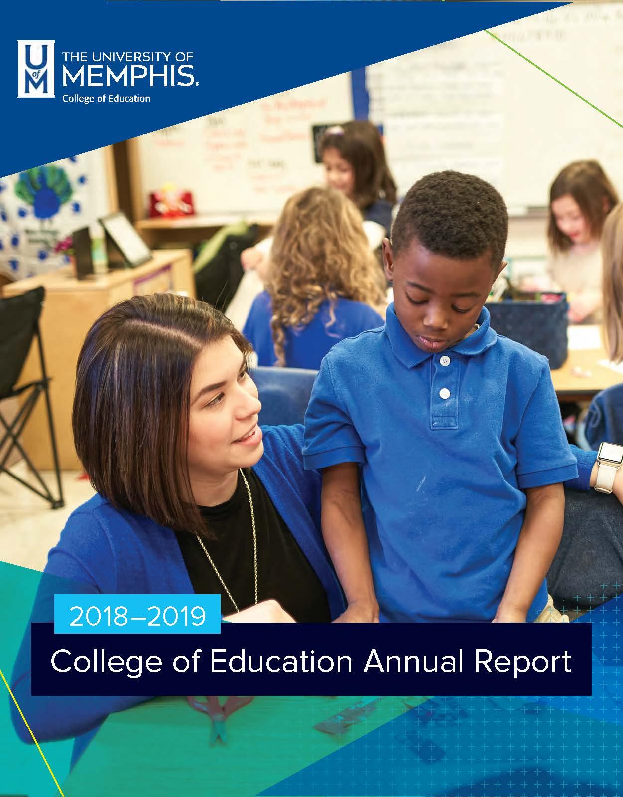 COE 2018-2019 Annual Report Cover image