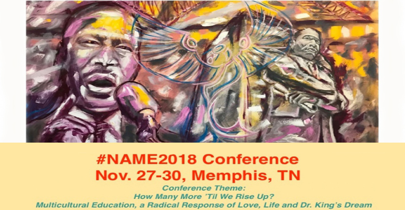 The National Association for Multicultural Education Conference mural