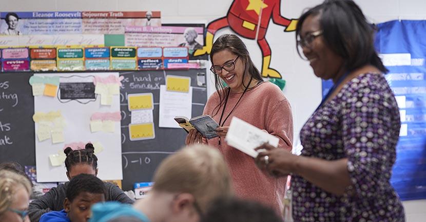 Teacher at Campus School