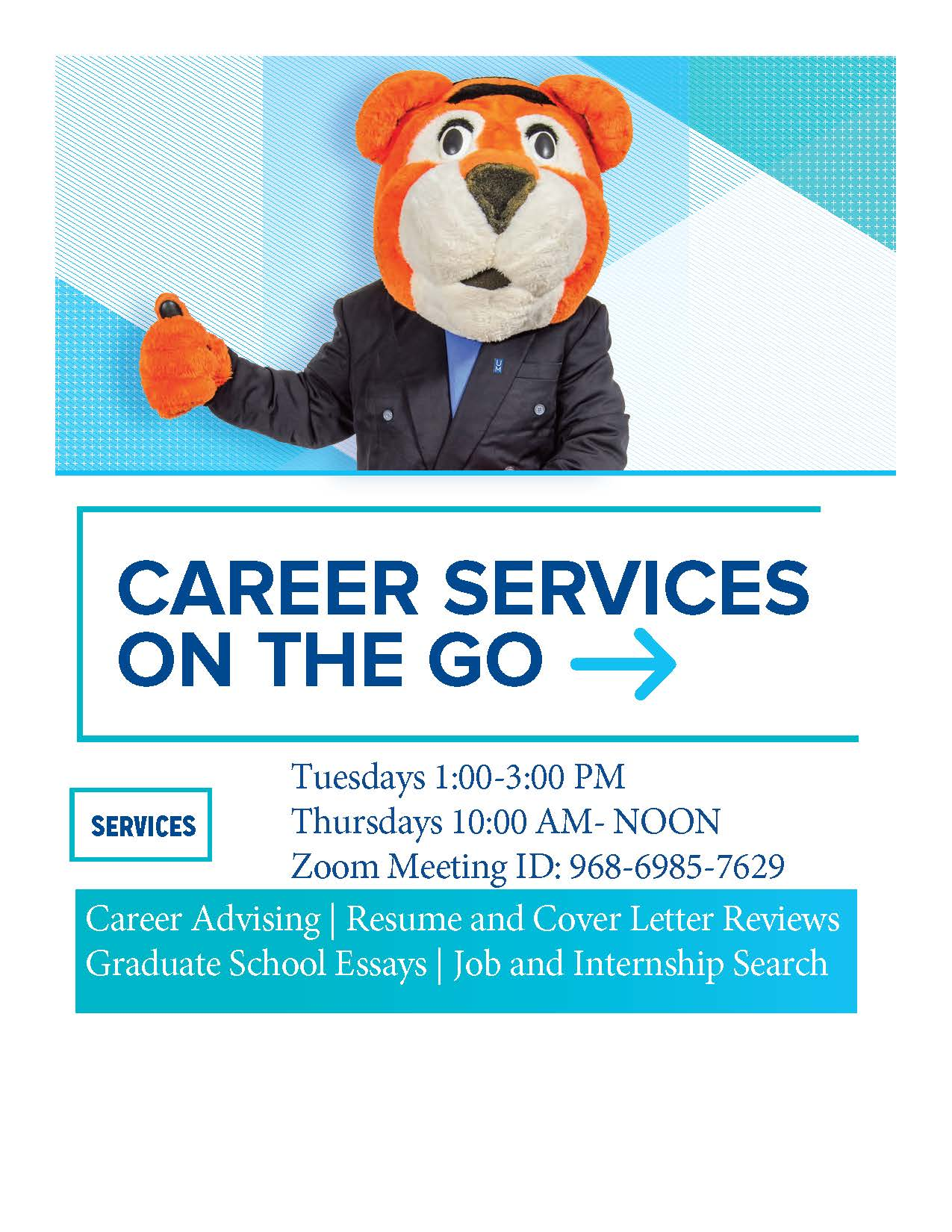 Career Services on the go advertisement