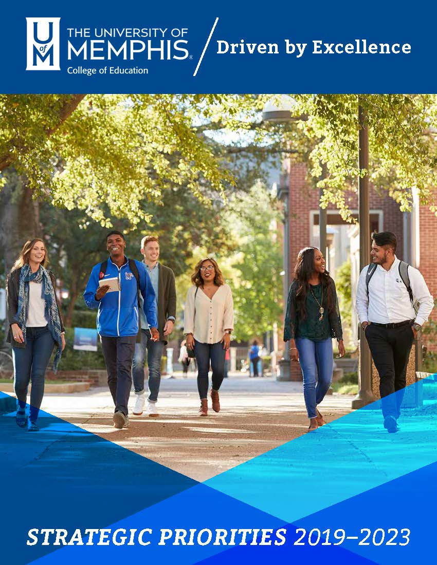 UofM College of Education Strategic Priorities Cover page