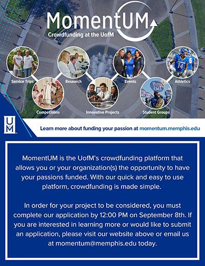 MomentUM crowdfunding platform