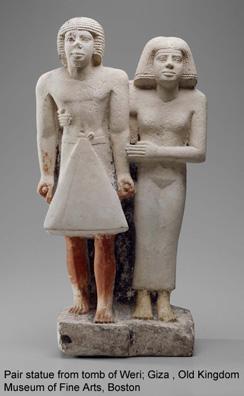 MFA Pair Statue