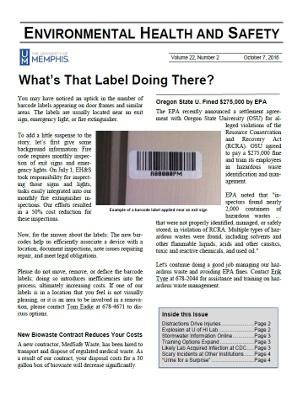 Archive Newsletter