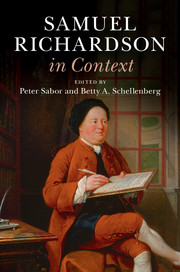 Samuel Richardson cover