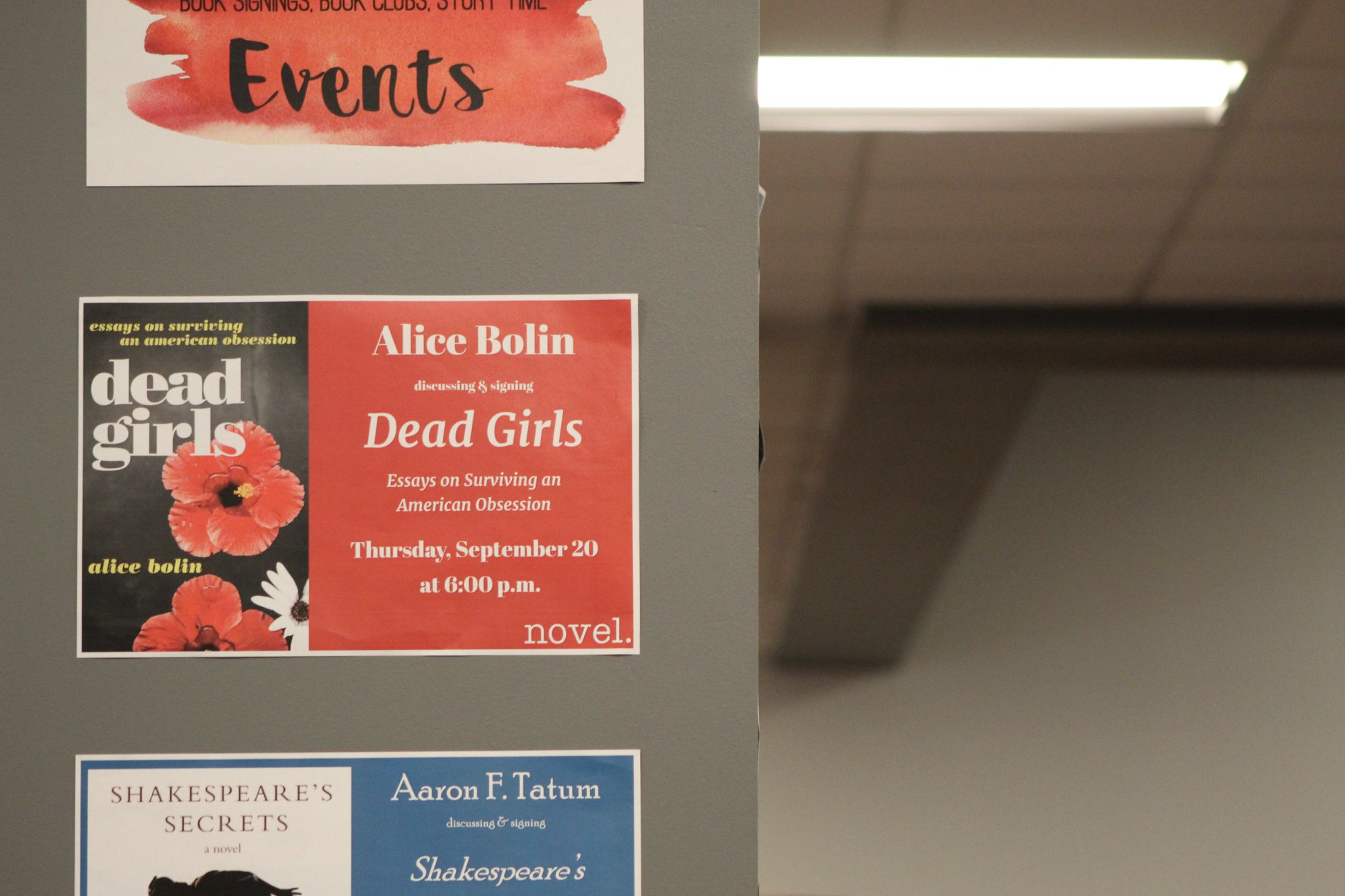 Alice Bolin Reading Event