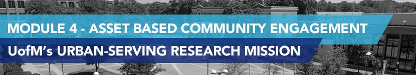 Module 4 - Asset Based Community Engagement