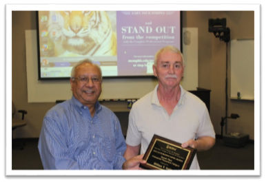 Dean Rajiv Grover with Dr. Bill Smith