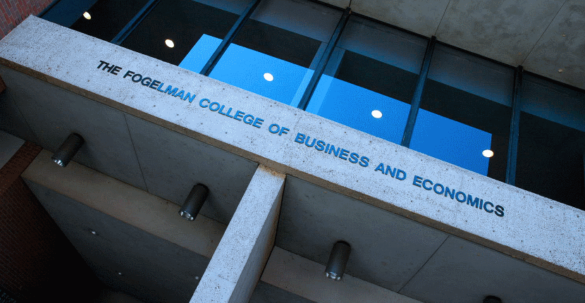 fogelman college of business  u0026 economics