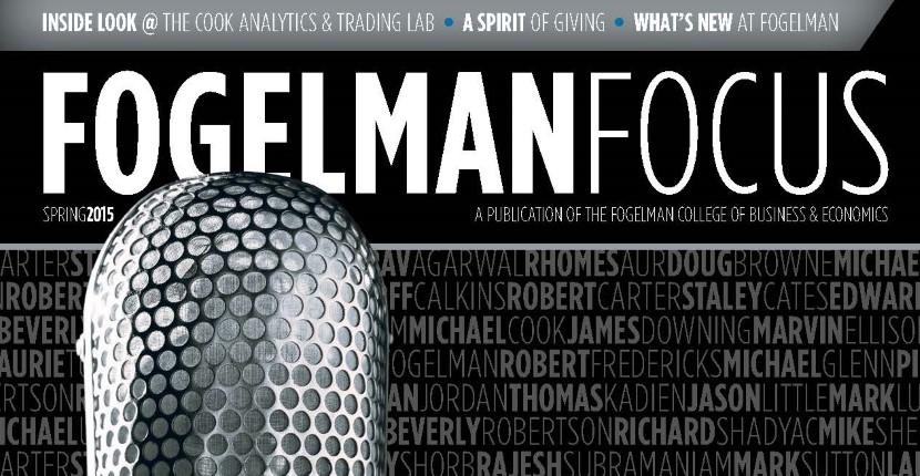 Fogelman Focus header