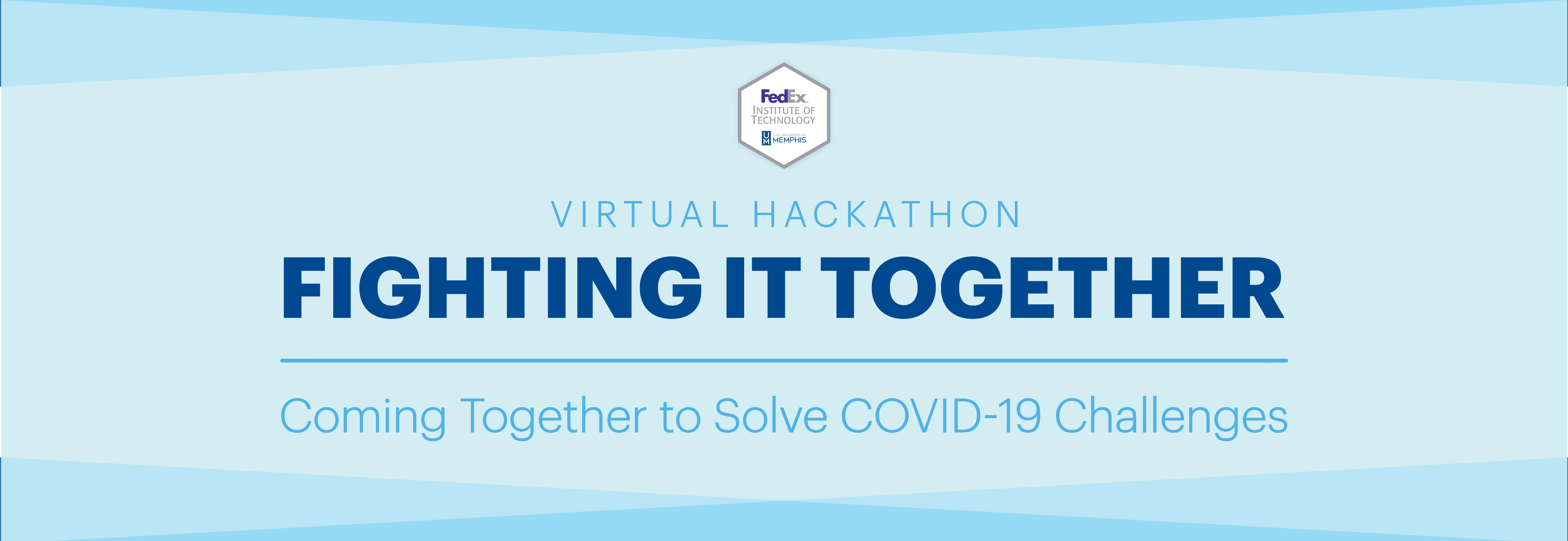 Virtual Hackathon | Fighting It Together | This is your opportunity to come together (virtually) to identify, support, and bring innovative solutions to some of the most pressing challenges currently affecting us all.
