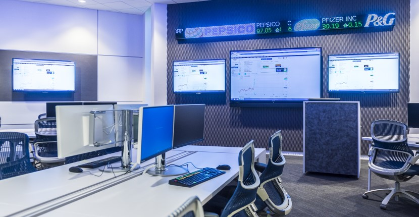 Inside the Cook Analytics & Trading Lab (CAT) Lab