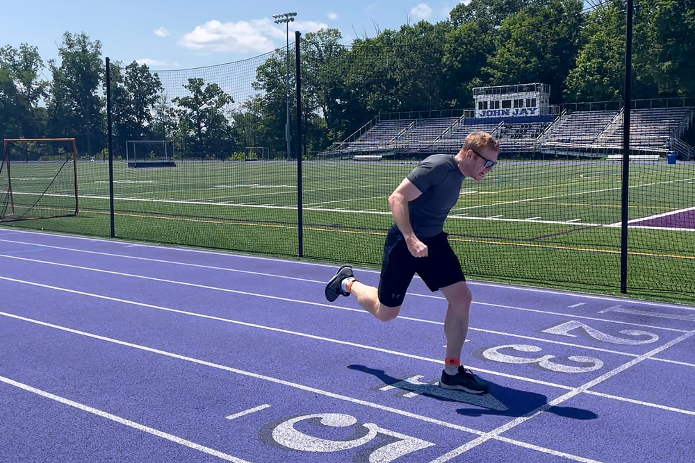 He's a Writer, He's a Track Star: Testing Vicon Blue Trident IMU Sensors in the 200-Meter Dash