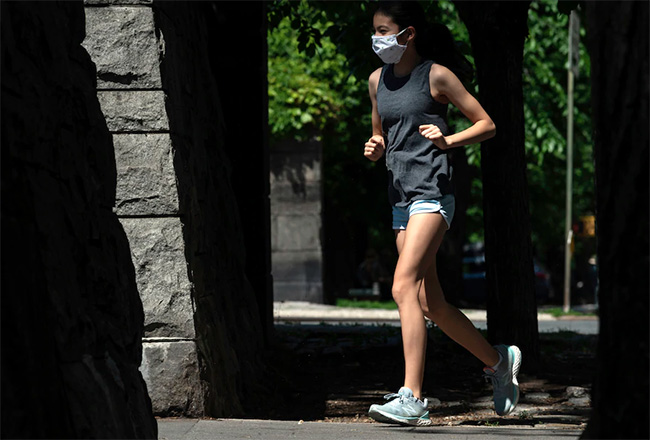 Running during the Pandemic - Washington Post
