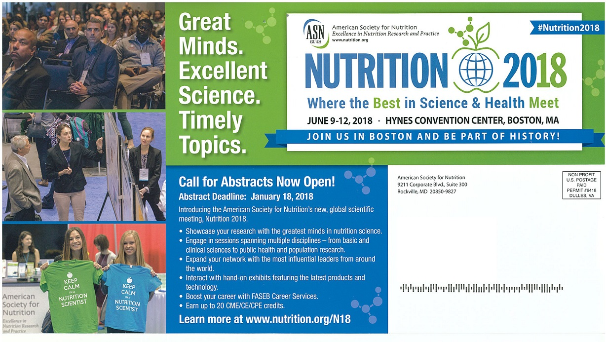 Nutrition Newsletter features two School of Health Studies Students