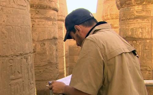 Andrew Shilling at Karnak