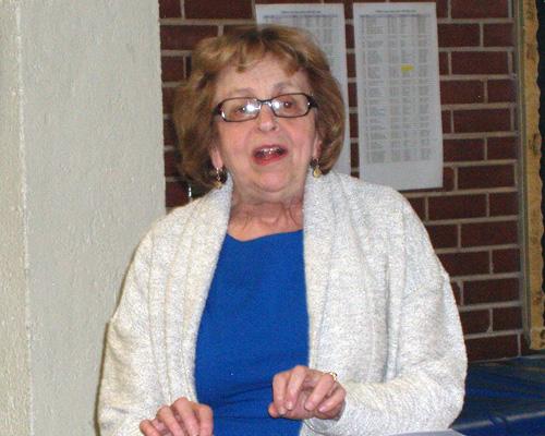 Reva Kriegel speaking