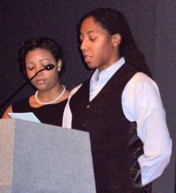 Kaylin Ewing and Shernita Heard