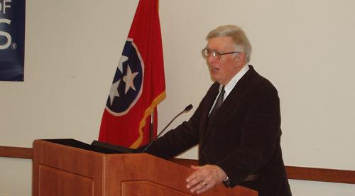 Dr Kenneth Jackson speaking