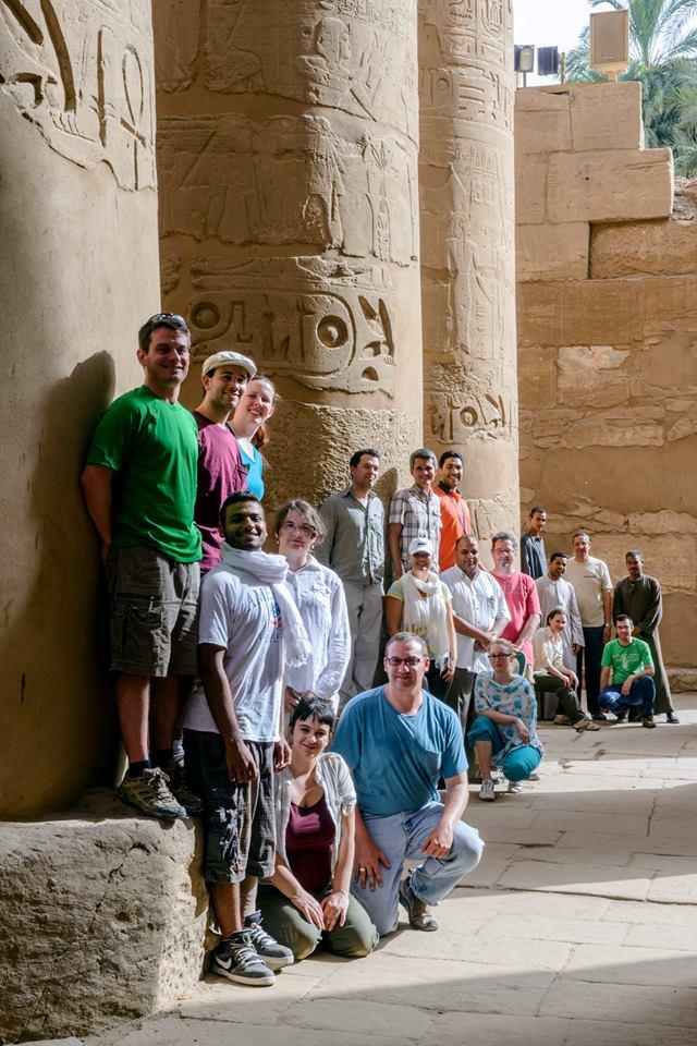 Crew at Karnak