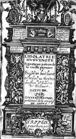 Idolatrie title page