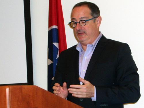 Dr Alan Karras speaking