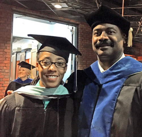 Dr Kaylin Ewing and Dr K. B. Turner