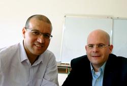 Dr Belmekki and Dr Laumann